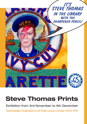 Steve Thomas Prints invite
