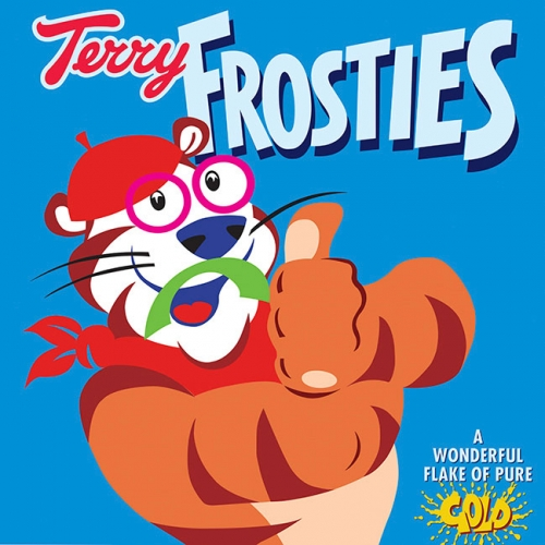 Steven Thomas Print - Terry Frosties