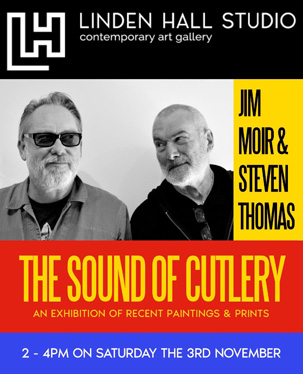Jim Moir and Steven Thomas, Linden Hall Gallery, Deal, Kent